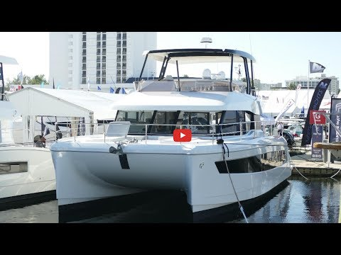 The New 2019 Fountaine Pajot MY44 Motor Yacht Catamaran