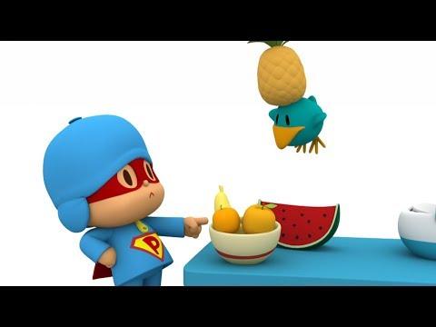 Покойо на русском языке - Супер Покойо - Сборник про еду и полезные привычки | Super Pocoyo - Food
