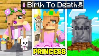 BIRTH to DEATH of a Minecraft PRINCESS!