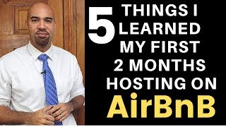 Gambar cover 5 Things I learned my first 2 months hosting on AirBnB