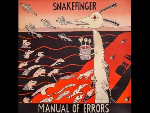 Snakefinger -  Manual of Errors - ganzes Album