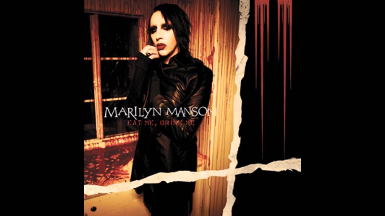 Marilyn Manson Eat Me Drink Me Album Cover
