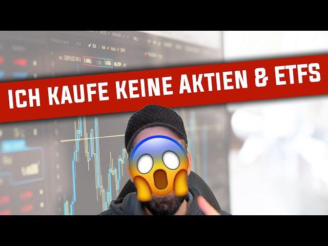 Warum ich zurzeit keine Aktien & ETFs kaufe 😱📉
