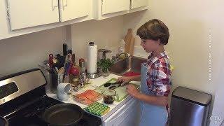 В США 12-летняя девочка с белорусскими корнями победила в кулинарном телешоу