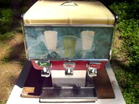 Coca-Cola Fountain Soda Dispenser, Dole Director Regent III From 1960s, Nice ... For Sale!