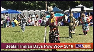 Seafair Indian Days Pow Wow 2016