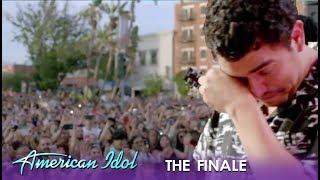 Alejandro Aranda: Breaks Down SOBBING 😭 At Homecoming Embrace | American Idol 2019