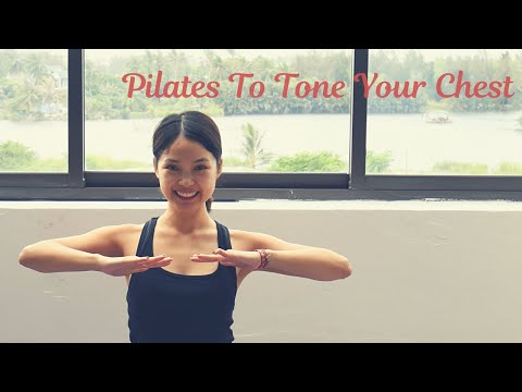 Pilates For Chest Toning and Lifting | No Equipment At Home Workout