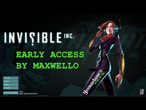 Maxwello découvre en avant-première Invisible,inc de Klei Entertainment