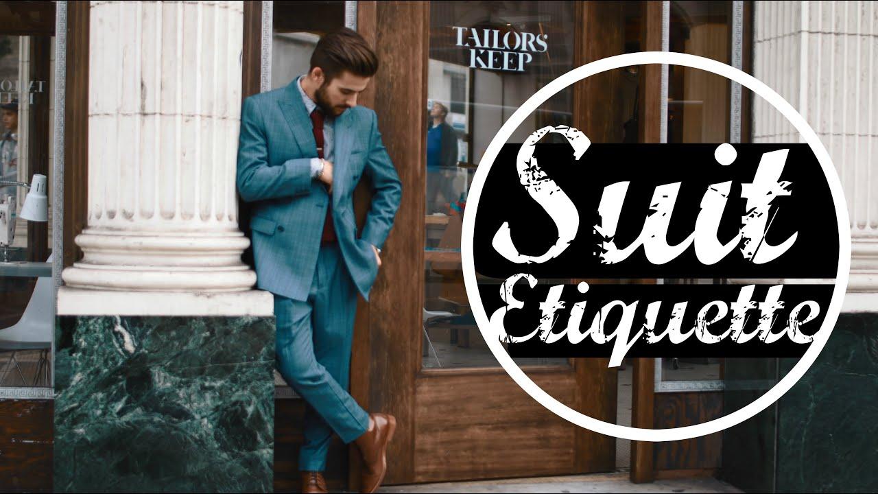 Suit Etiquette | Affordable Suits | Mens Fashion ...