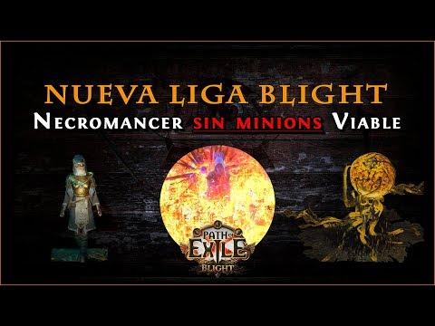 Path Of Exile - Liga Blight 3.8 || Volatile Dead Low Life Necromancer