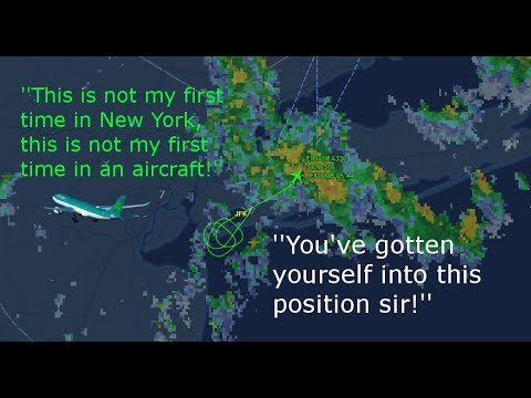 Angry New York ATC argues with Aer Lingus pilot ATC Audio