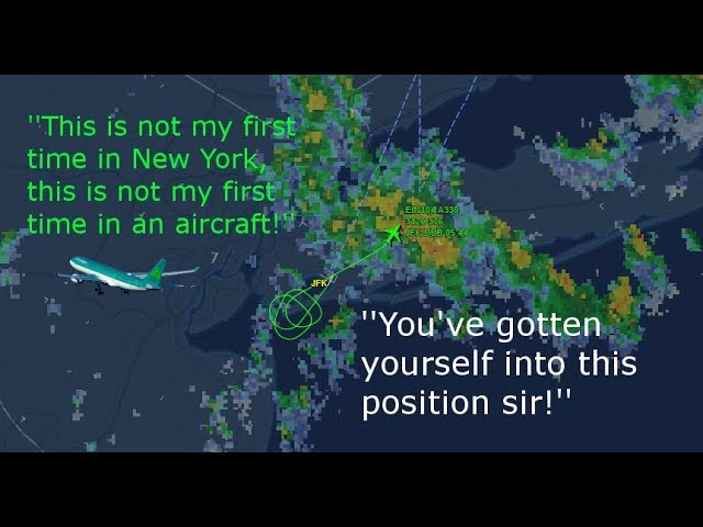 An Irish Pilot Arguing With a New York Air Traffic Controller Is