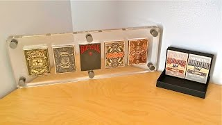 Clear Acrylic Playing Card Display Case