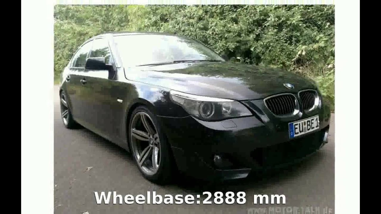 2005 bmw 530d e60 power acceleration equipment specs features price info release date youtube. Black Bedroom Furniture Sets. Home Design Ideas