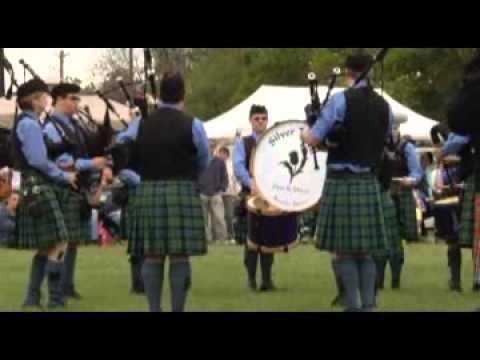 Pipe Band Compeition - CTAM Highland Games - Salado, TX 2013