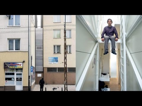 Warsaw's Keret House – World's Narrowest Home Is Just 1 2 Meters Wide