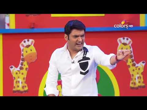 Comedy Nights With Kapil - The Great Khali - 21st June 2015 - Full Episode(HD)