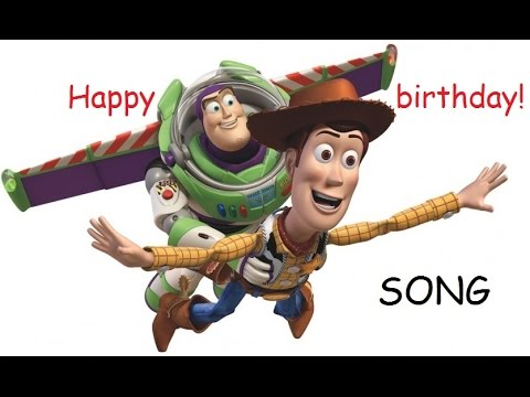 Toy Story Birthday Surprise Party Woody And Buzz Lightyear Happy Birthday Song