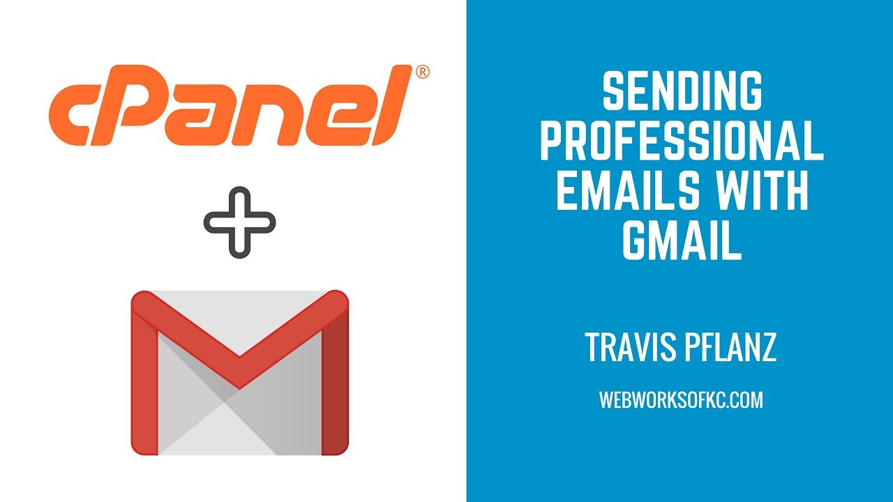 How to create an email address in cPanel & setup Gmail to send/receive emails