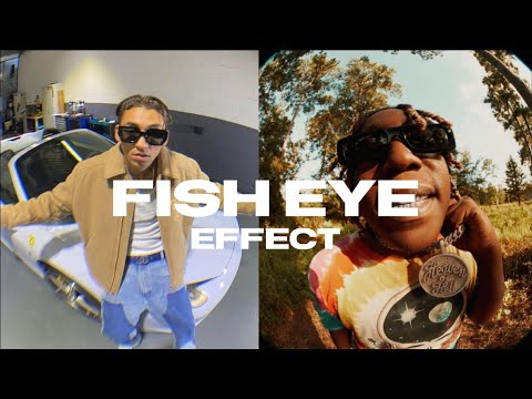 Create The FISH EYE EFFECT Mobile Tutorial