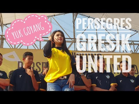 Goyang Heboh Launching Persegres Gresik United