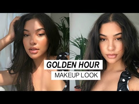 GOLDEN HOUR MAKEUP LOOK! | Sian Lilly