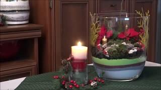 GARDEN DESIGN 126 - Sukulenty w szkle i w koszyku - Succulents in glass and in the basket