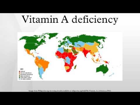 Vitamin A deficiency - YouTube