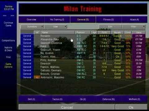 cm01/02 training - champman0102.co.uk