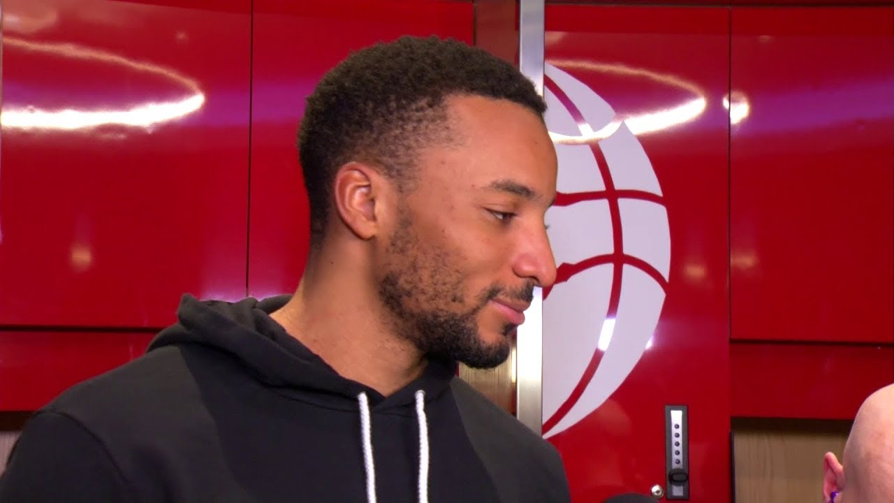 Raptors Post-Game: Norman Powell - November 7, 2017 - YouTube