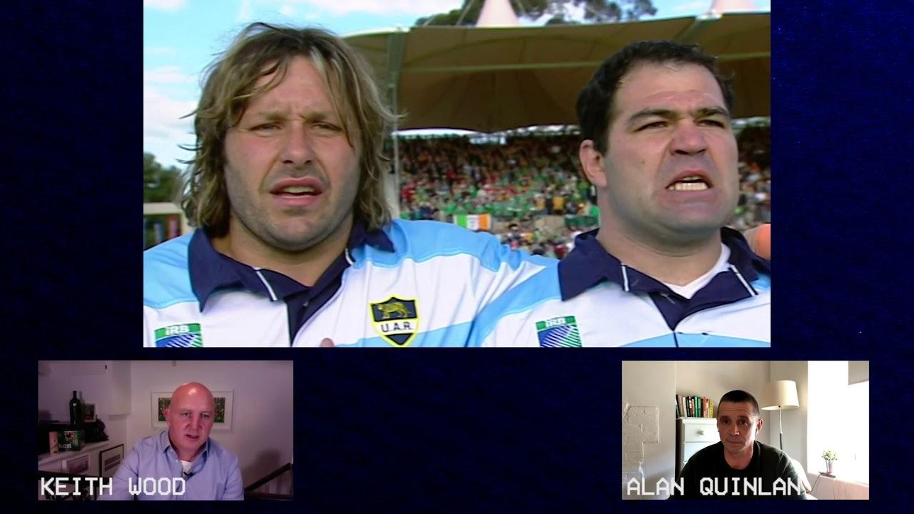 Ireland v Argentina RWC 2003 | Keith Wood & Alan Quinlan Watch-Along