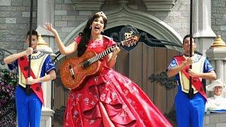 Repeat youtube video Princess Elena of Avalor - Royal Welcome - Disney Junior - Magic Kingdom Florida - Latina