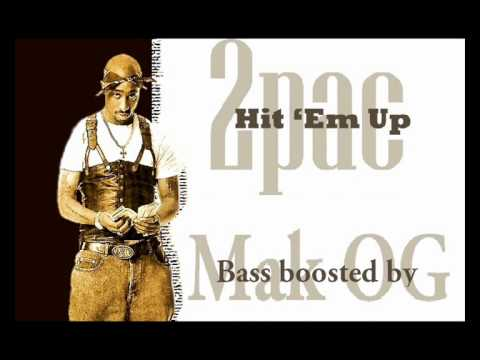 2Pac - Hit 'Em Up (Clean Bass Boost)