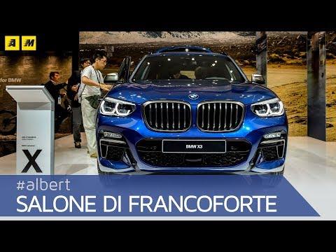 BMW X3, ecco la nuova SUV di segmento D bavarese  | Salone di Francoforte [ENGLISH SUB]