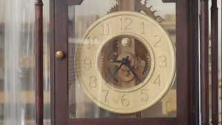 Wood Gear Grandfather Clock