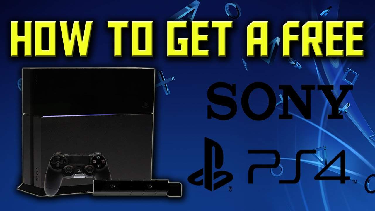 ps4 sweepstakes how to get a free ps4 how to get a free ps4 with free 9309
