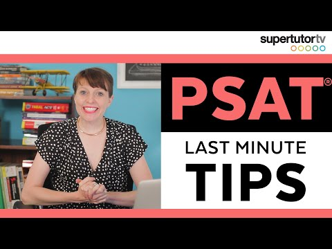 Last Minute PSAT Tips: What to Study the Night Before the Exam