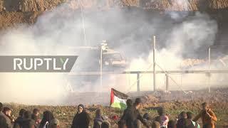 State of Palestine: One killed, dozens injured in Palestinian protest along Gaza border