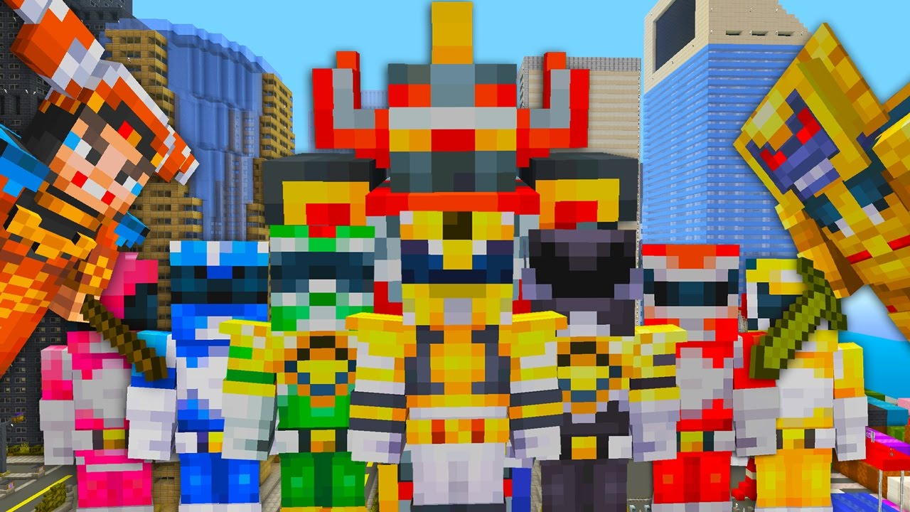 Minecraft Xbox Power Rangers New Skin Pack Update TU51