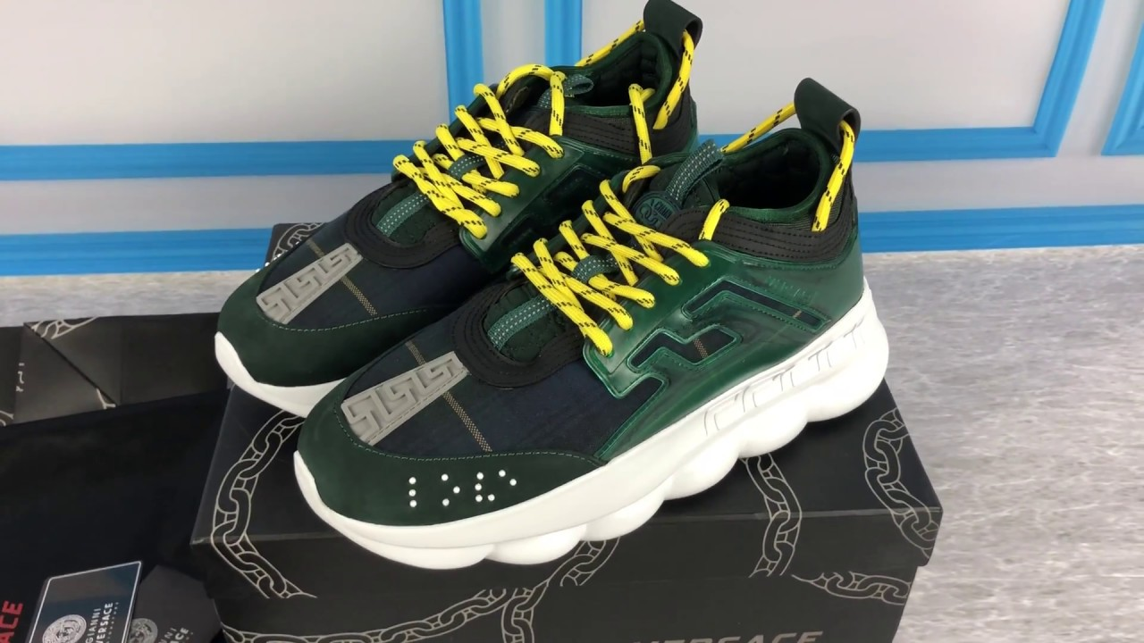 Versace Chain Reaction Replica Unboxing