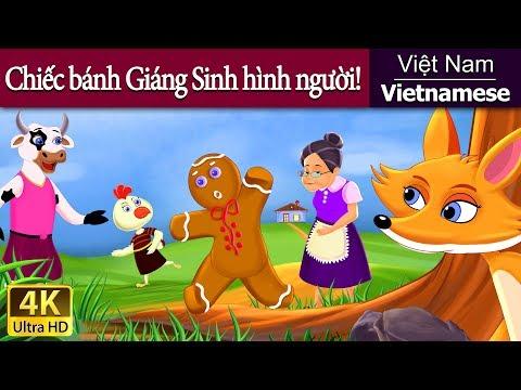Chiếc bánh Giáng Sinh hình người! - Phim hoạt hình - 4K UHD - Vietnamese Fairy Tales
