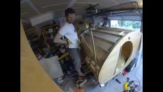 Denizen Teardrop Trailer Build — Ceiling Part 2