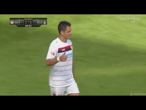 Javier Chicharito Hernández vs Real Sociedad 13/08/16 HD