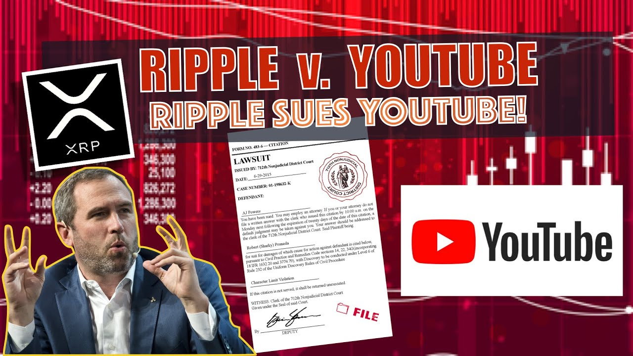 🆇BREAKING NEWS! Ripple Sues YouTube! What Does This Mean For XRP? Ethereum DeFi Hacker RETURN 25M! 8