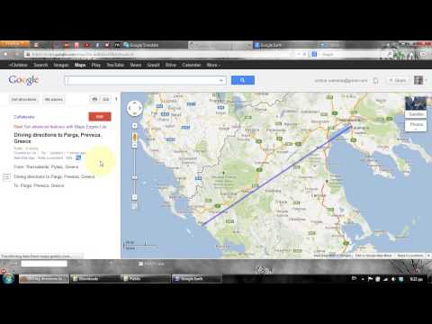 Create & Open KML/KMZ Files With Google Maps & Google Earth