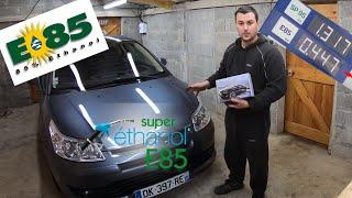 Installation boitier Bio Ethanol E85 sur Citroën C4 / Peugeot 307 1.6L