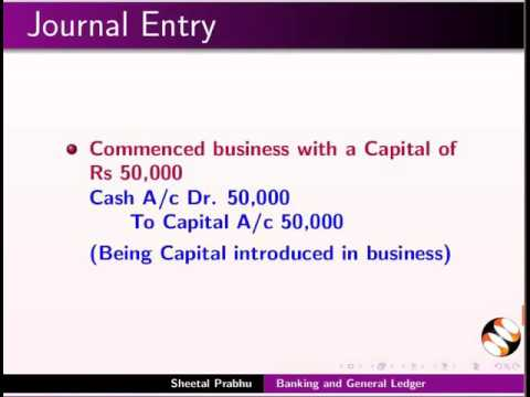 Banking and General Ledger - English