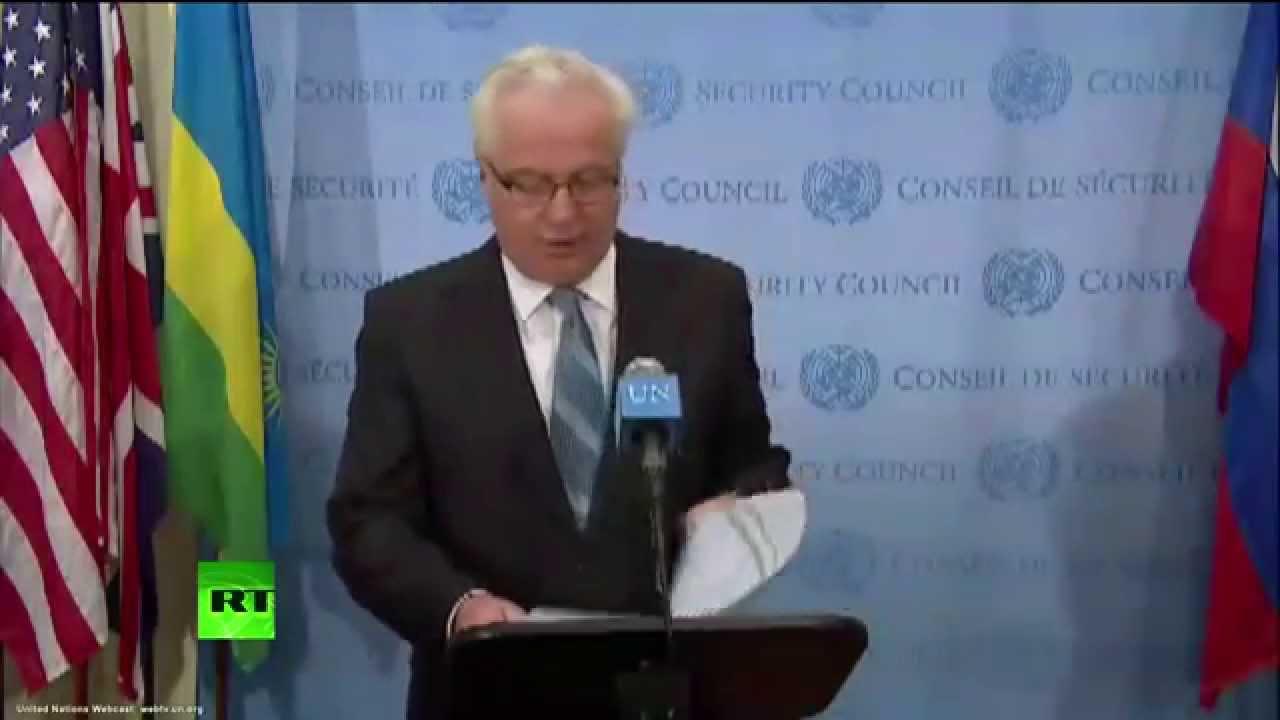 Заявление для прессы постоянного представителя РФ в ООН Виталия Чуркина