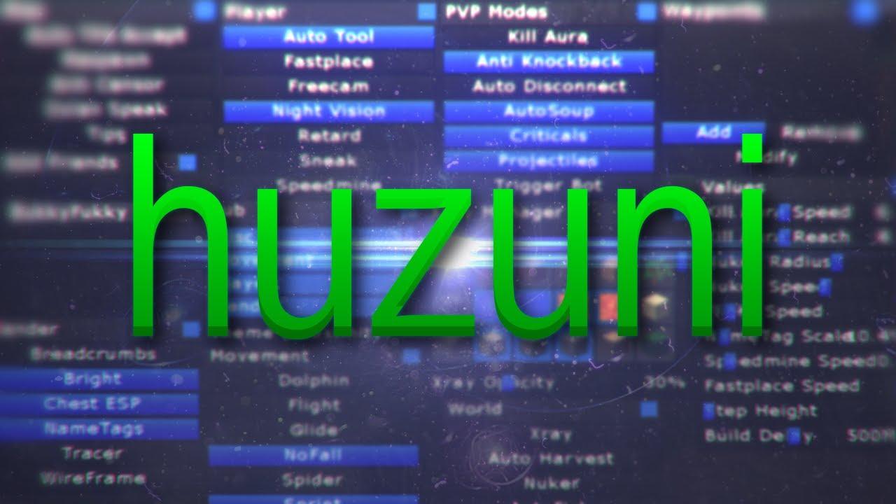 [Minecraft] Hack – สอนวิธีดาวน์โหลด Huzuni 1.8 – (Thai)